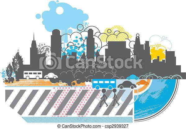 funky city - csp2939327