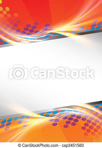 Funky Design Template - csp3451560