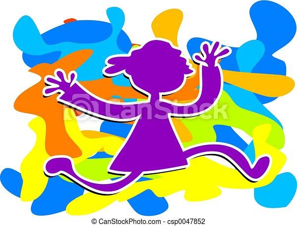 Funky Kid - csp0047852