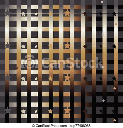 Funky Pattern with glittering stripes - csp77406068