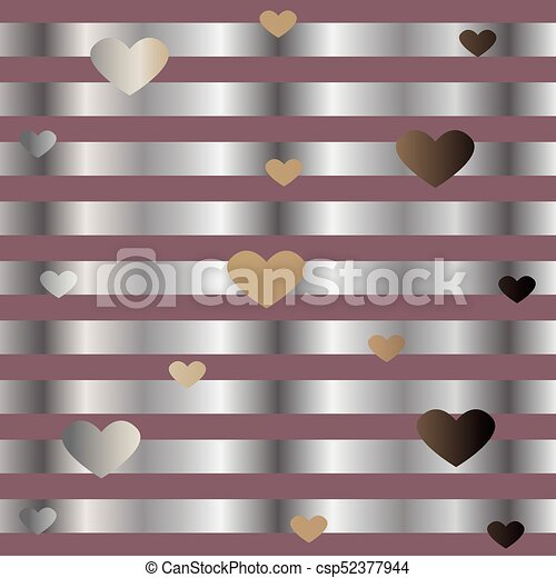 Funky Pattern with glittering stripes - csp52377944