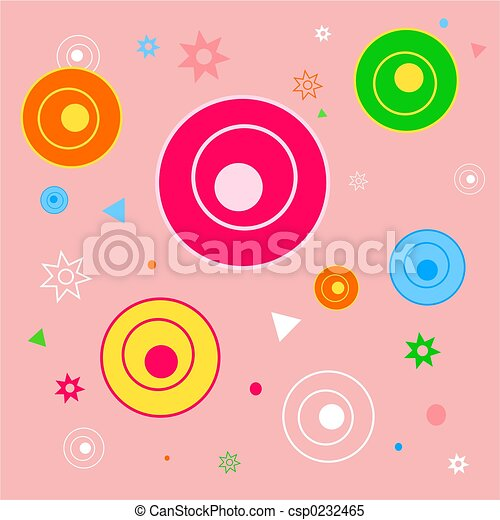 funky shapes tile - csp0232465