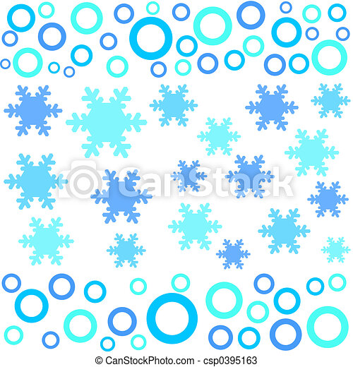 Funky winter designs - csp0395163