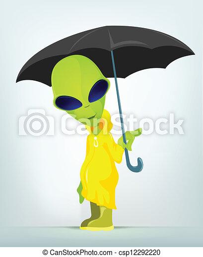 Funny Alien - csp12292220