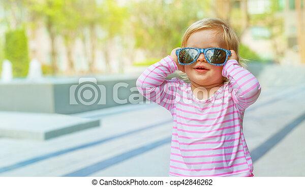 Funny baby - csp42846262