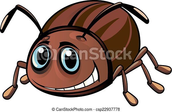 Funny beetle - csp22937778