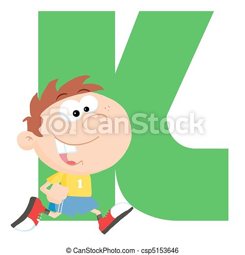 funny cartoons alphabet k letter k with a kid clip art vector rh canstockphoto com sg letter c clipart black and white fancy letter k clipart