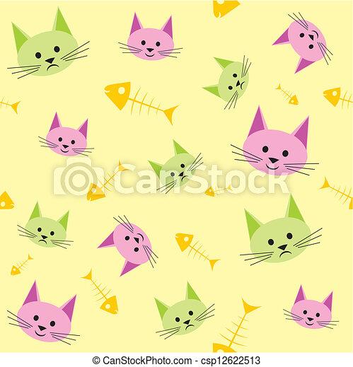 Funny cats - csp12622513
