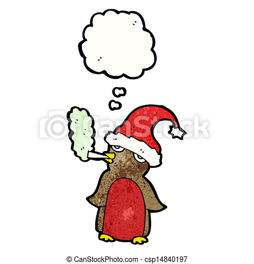 funny christmas robin cartoon eps vectors search clip art rh canstockphoto com funny christmas clip art free funny christmas clipart black and white