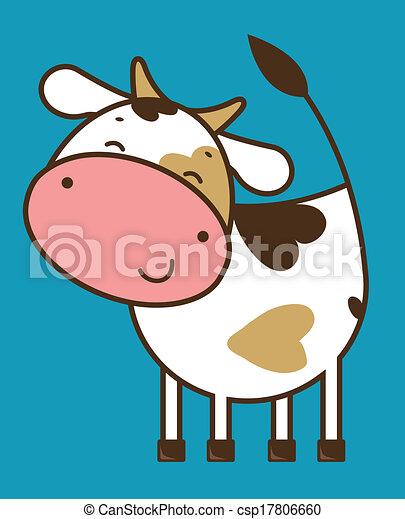 Funny cow - csp17806660