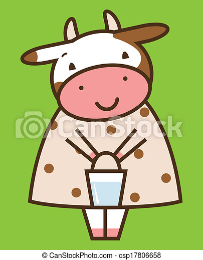 Funny cow - csp17806658