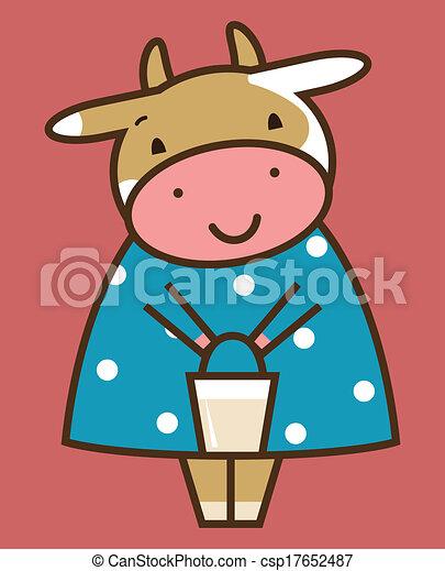 Funny cow - csp17652487