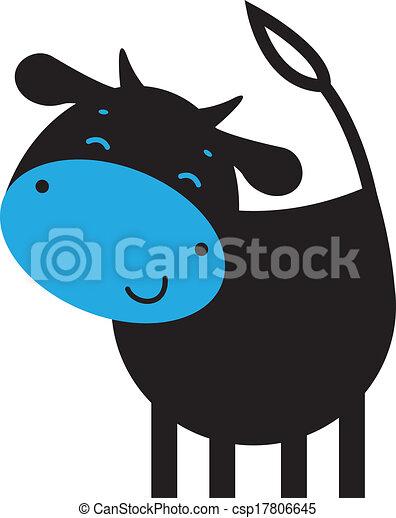 Funny cow - csp17806645