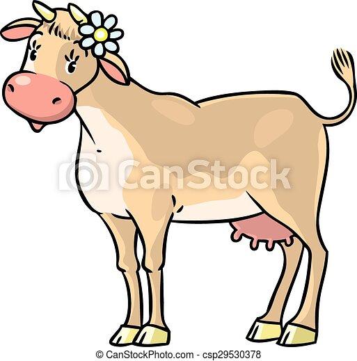 Funny cow - csp29530378