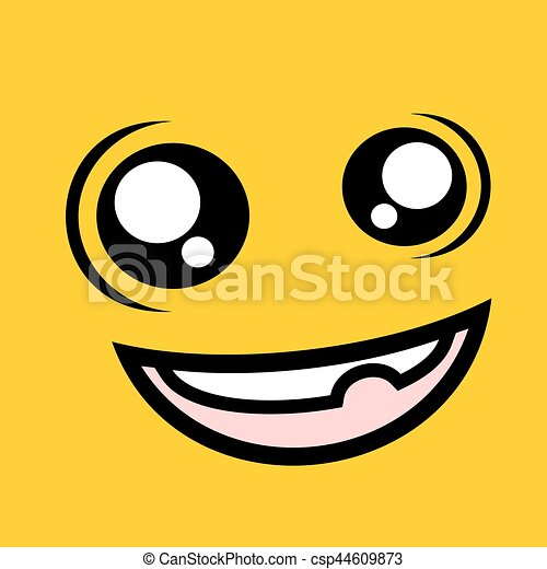 design of funny crazy face vectors illustration search clipart rh canstockphoto com