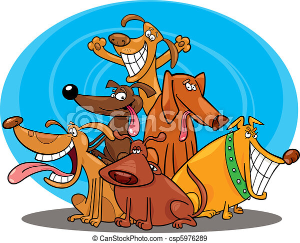 funny dogs - csp5976289