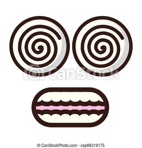 funny face crazy eyes - csp66319175