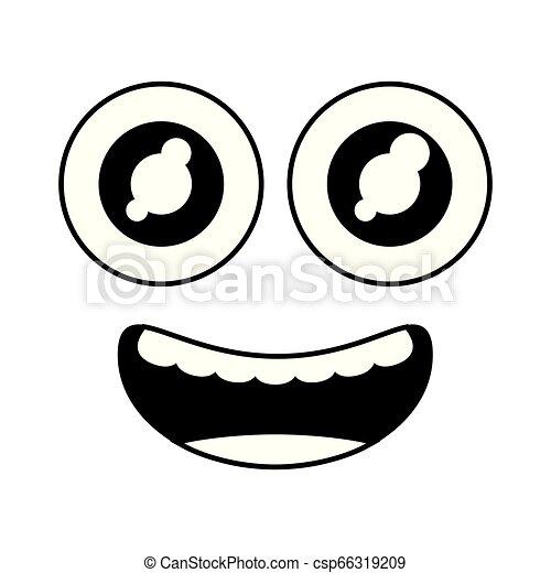 funny face eyes - csp66319209