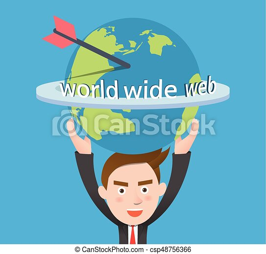 Funny flat character illustration Business series - csp48756366