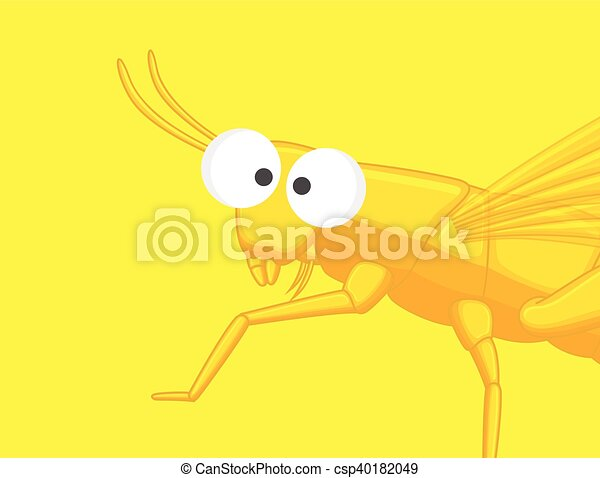 Funny Grasshopper - csp40182049
