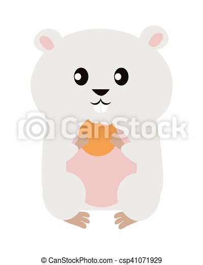Funny Hamster Illustration - csp41071929