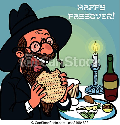 Funny happy jewish passover greeting card vector illustration funny happy jewish passover greeting card vector illustration m4hsunfo