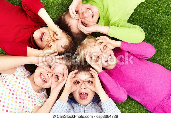 Funny kids - csp3864729