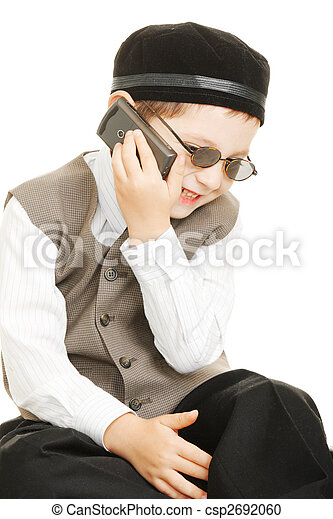 Funny phone chat - csp2692060