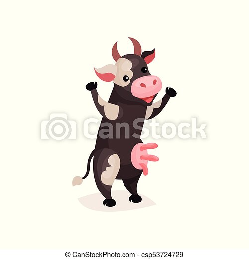 Cow on two legs