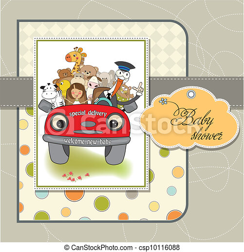 funny stork - csp10116088