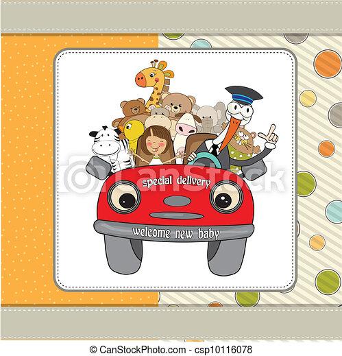 funny stork  - csp10116078