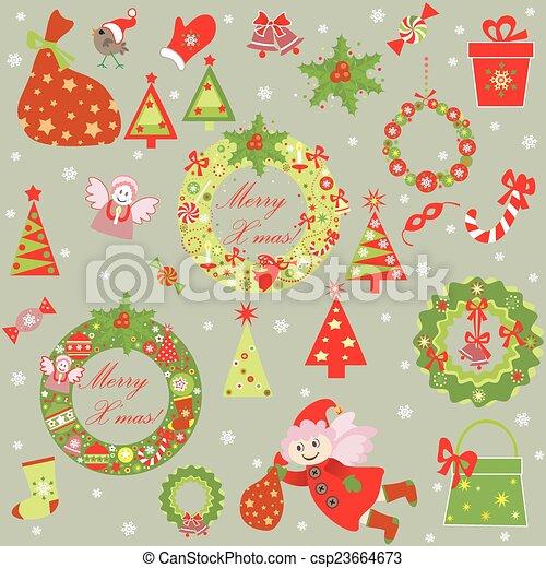 funny xmas wallpaper image csp23664673