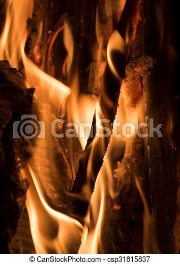 fuoco, astratto - csp31815837