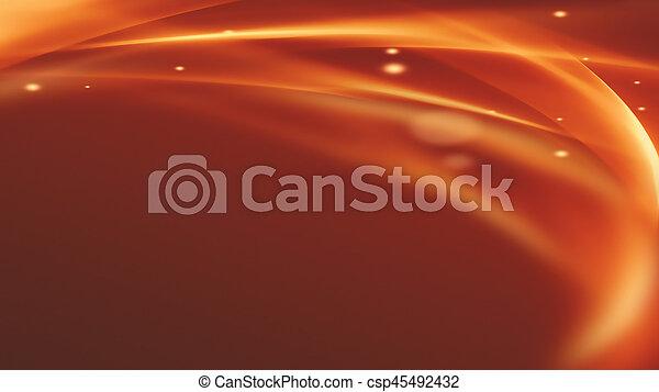 fuoco, astratto, fondo - csp45492432
