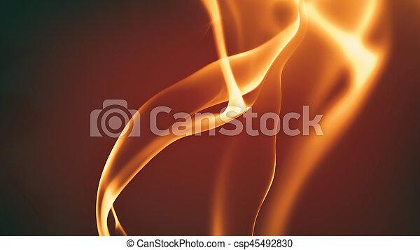 fuoco, astratto, fondo - csp45492830