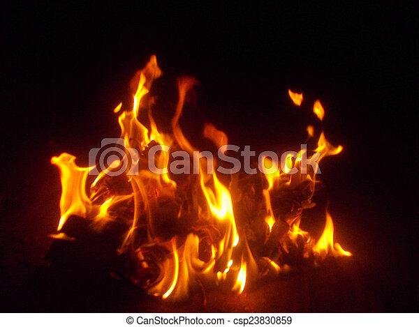 fuoco, astratto, fondo - csp23830859
