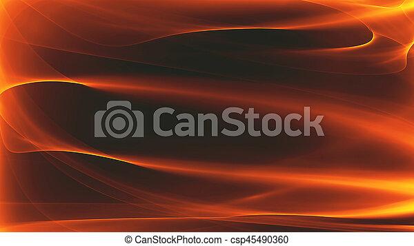 fuoco, astratto, fondo - csp45490360