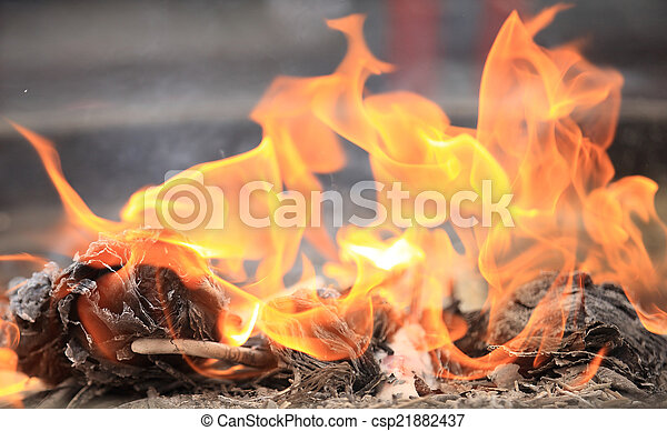 fuoco, fiamma - csp21882437