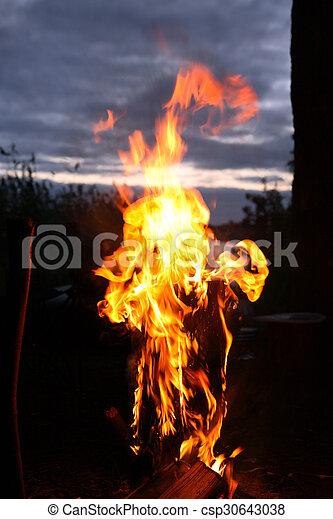 fuoco, fiamma - csp30643038