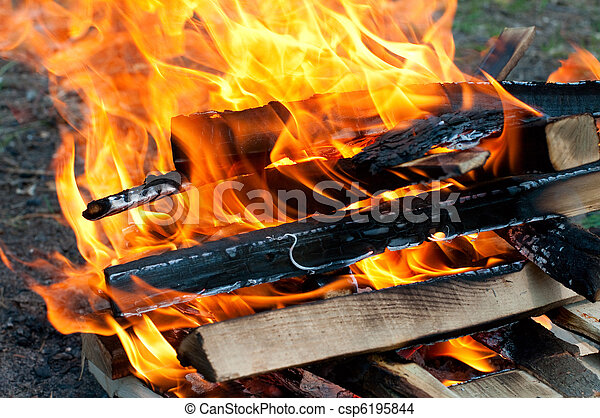 fuoco, fiamma - csp6195844