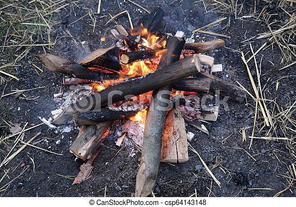 fuoco, fiamma - csp64143148