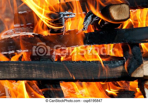 fuoco, fiamma - csp6195847