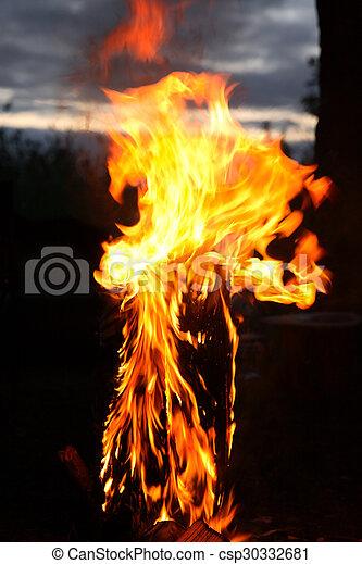 fuoco, fiamma - csp30332681