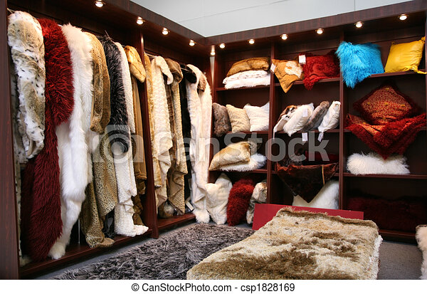 fur closet - csp1828169