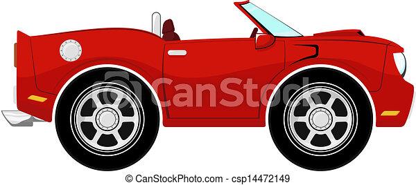 furcsa, átváltható, piros - csp14472149