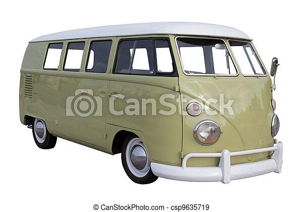 furgon, volkswagen - csp9635719