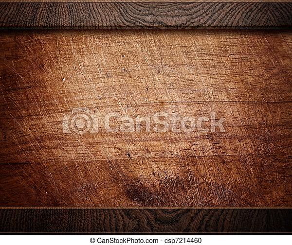 Holz-Hintergrund-Stimme (antique Möbel) - csp7214460