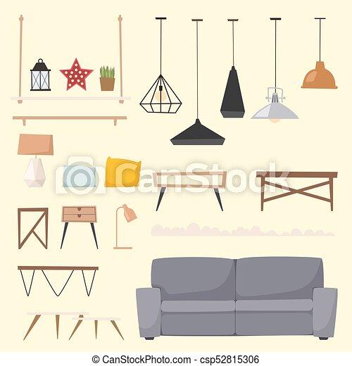 furniture room interior design apartment home decor concept rh canstockphoto com home interior design clipart house interior design clipart