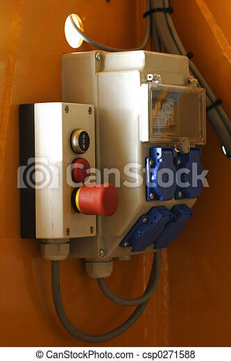 fuse box with emergency switch - csp0271588