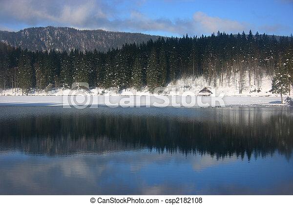 Fusine lower lake hut - csp2182108